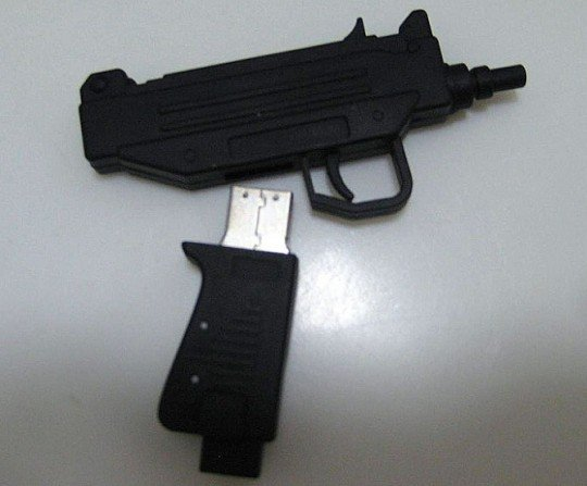 UZI USB Drive - Get Busy Committee