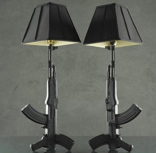 Ceramic-AK-47-Standing-Lamps