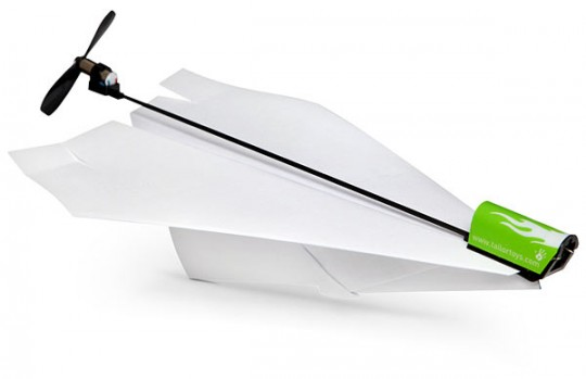 Electric-Paper-Airplane-Conversion-Kit