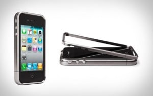 iPhone case made out of strong titanium