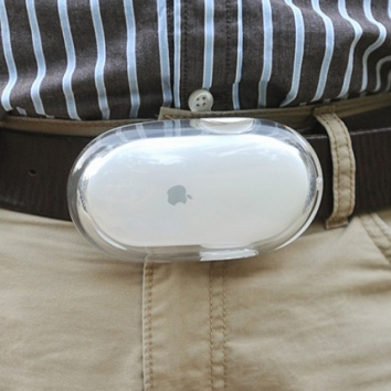 Geeky Mouse Belt Buckle for belts