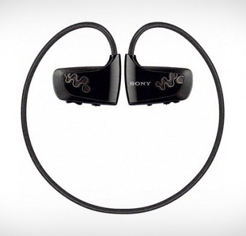 New Sony mp3 player built into headphones