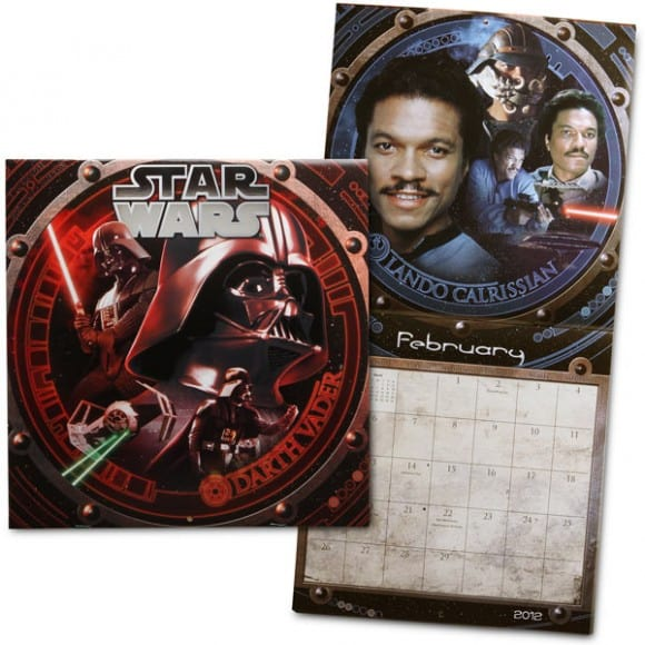 2012 Star Wars Calendar