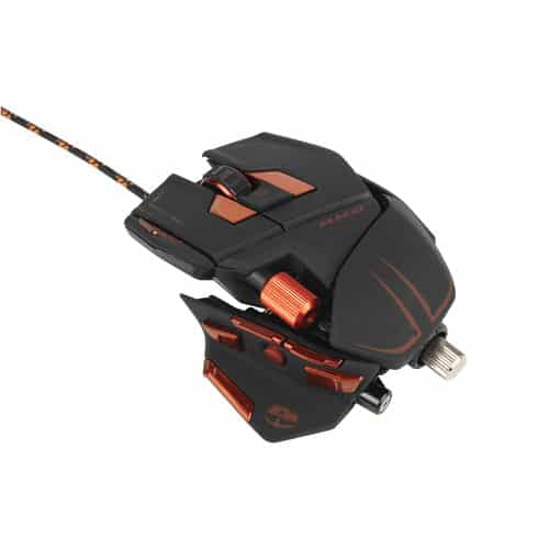 bolcom  Madcatz RAT 5 Gaming Muis Zwart PC