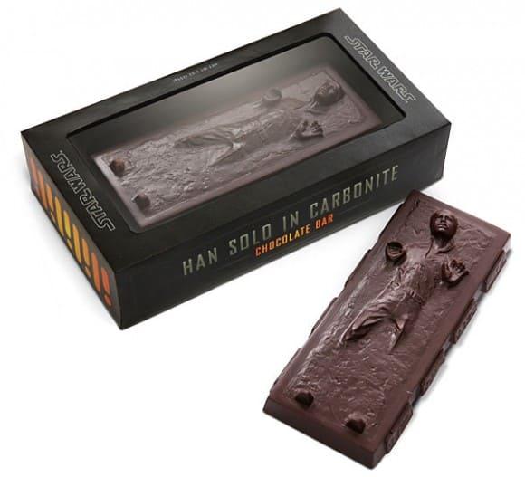 Han Solo in Carbonite Chocolate Bar Star Wars