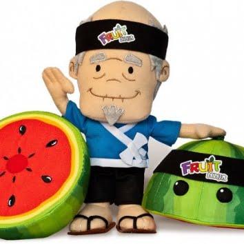 fruit ninja plust toys training pack