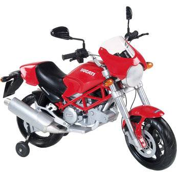 12 v electric ducati motorcycle for kids geekextreme. Black Bedroom Furniture Sets. Home Design Ideas
