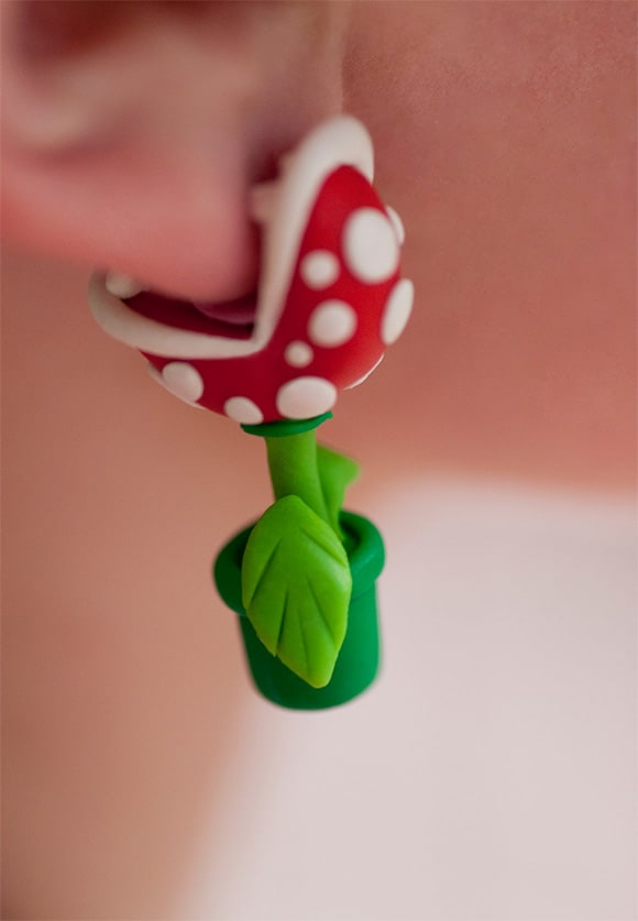 Piranha Plant Earring set for girls