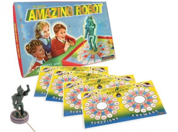 Magical Amazing Robot educational board game for kids
