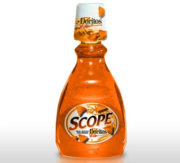 Doritos Scope Mouthwash
