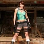 super hot laura craft cosplay
