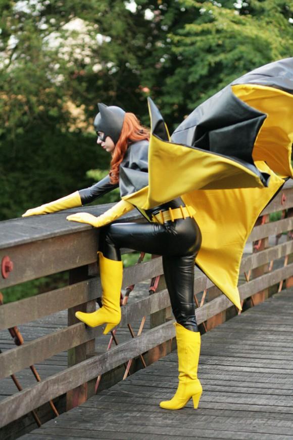 Hot Batgirl Cosplay