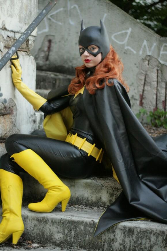 Beautiful Batgirl Cosplay