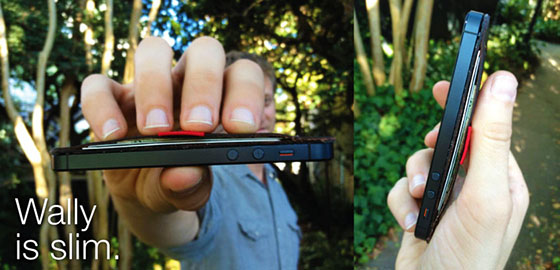 walley iphone wallet kickstarter