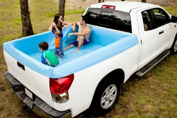 Pickup Pools Mobile Pool On Wheels Geekextreme