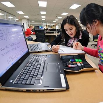 laptop in class
