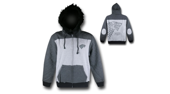 Post image for Winter Is Coming: GOT Stark Winter Hoodie
