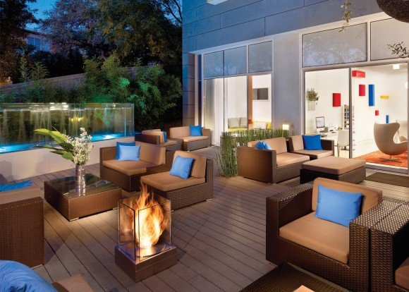 Post image for The Mini T By EcoSmart Fire – Indoor/Outdoor Fireplace