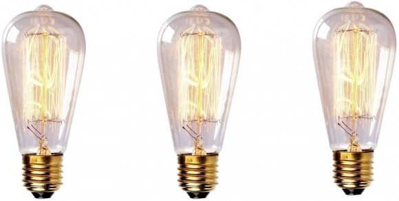 Post image for Oldie But Goodie – Edison Style Vintage Light Bulb