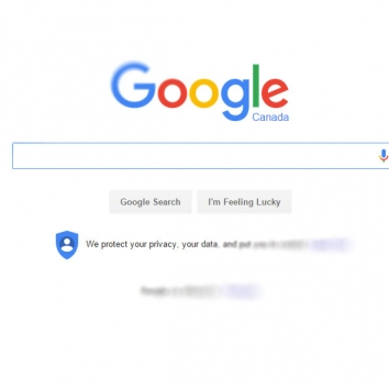search engine page