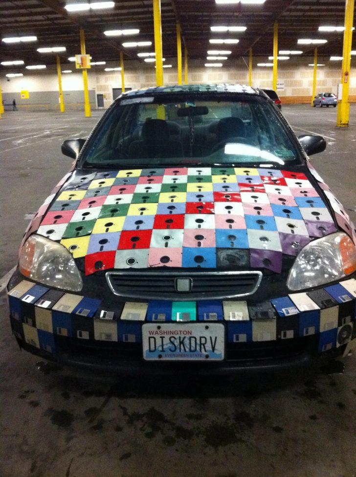 geeky car