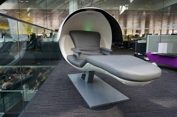 Energy Pod metronaps energy pod - naps at work! - geekextreme