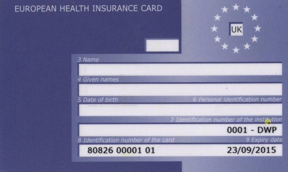 Post image for How To Renew Of Your EHIC (European Health Insurance Card)