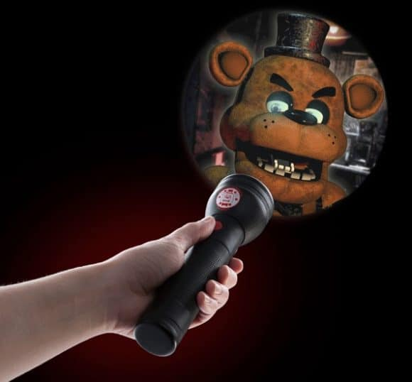 boo five nights at freddy s flashlight geekextreme