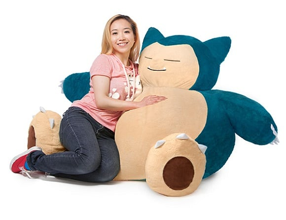 Post image for Pokémon Snorlax Bean Bag Chair