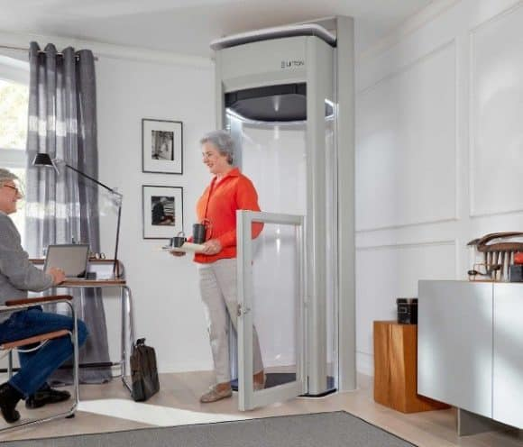 The lifton home lift no more stairs geekextreme for 1 story elevator