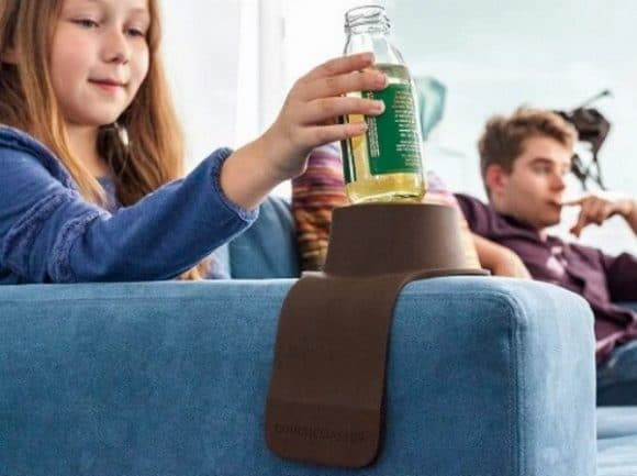 Post image for Couch Coaster Weighted Drink Holder