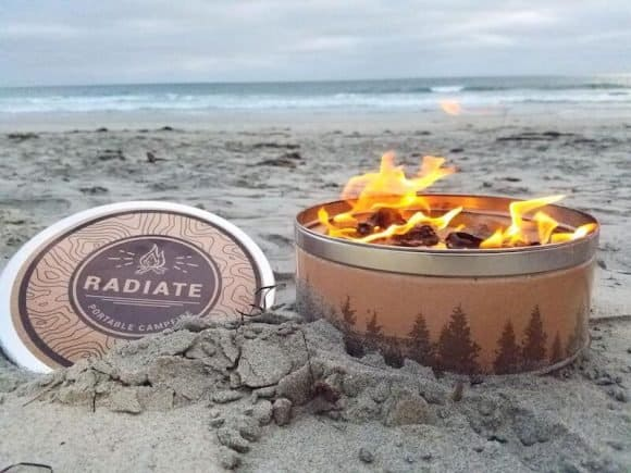Post image for A Campfire In a Can! By Radiate Outdoor Supply