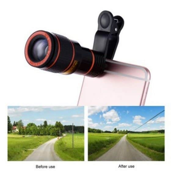 Post image for Clip-on Telescope Camera Lens