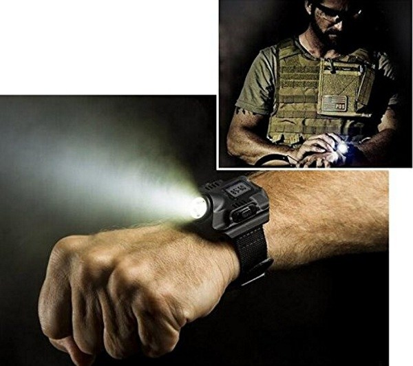 Post image for Wrist Watch Flashlight