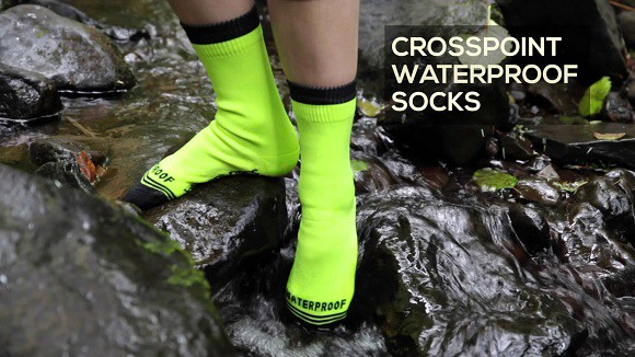Post image for Crosspoint Waterproof Socks – Keep Your Feet Dry In Wet Conditions