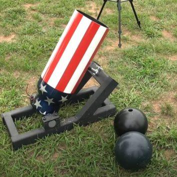 bowling ball mortar