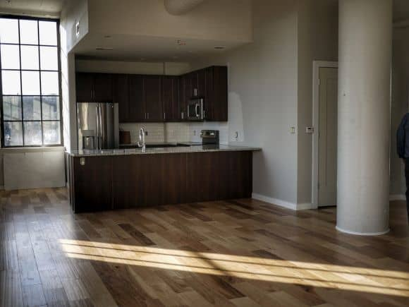 high tech apartment