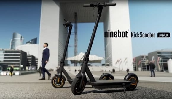 Post image for Ninebot Max – Electric Scooter