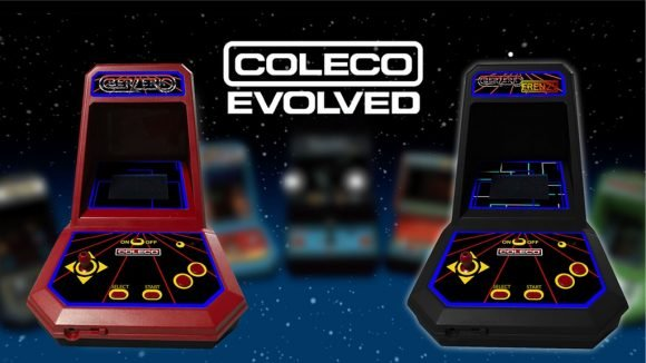 Post image for Coleco: Berzerk and Frenzy Mini Arcade Machine