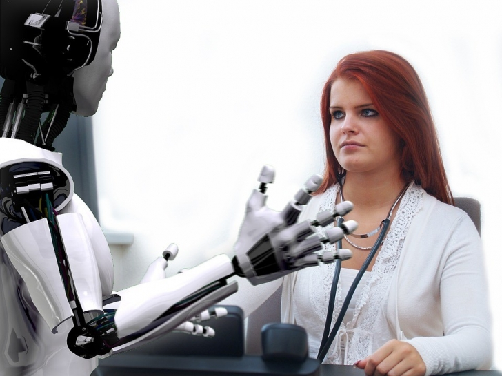 Medical Robot AI VR