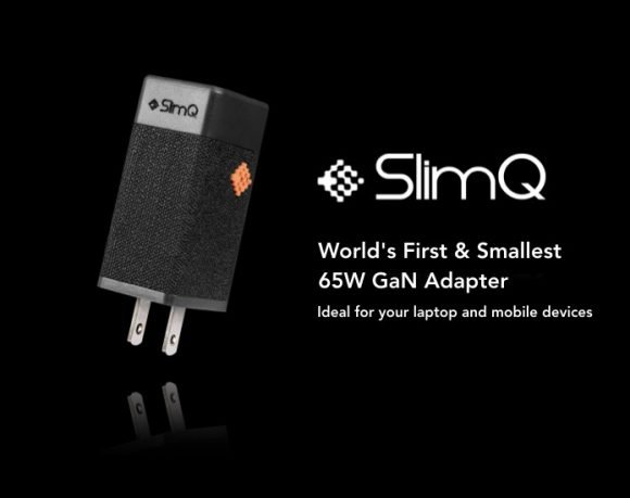 Post image for SlimQ – World's First 65W GaN Adapter
