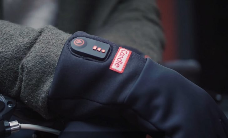 Candle Battery Powered Heated Gloves
