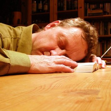 sleeping man book