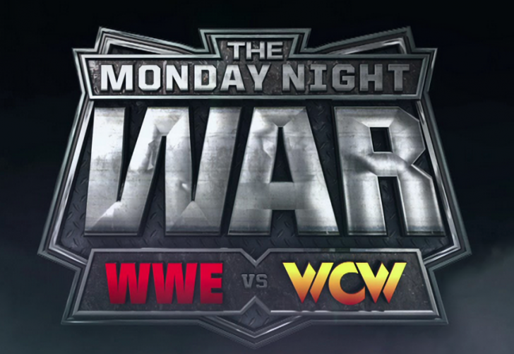 wwe vs wcw monday night war