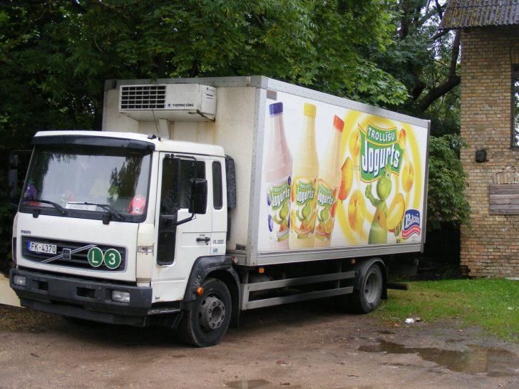 fancy refrigerated van