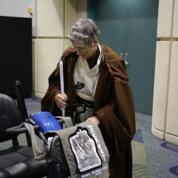 jedi grandma light saber