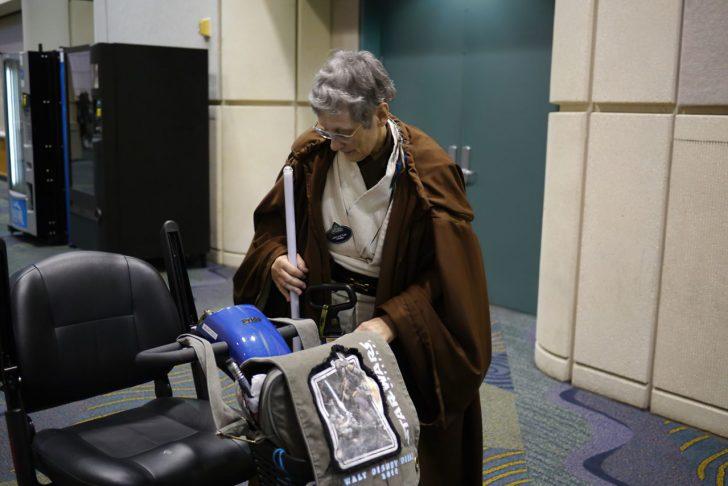 jedi grandma light saber