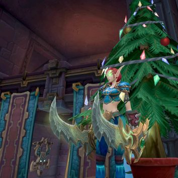 world of warcraft christmas