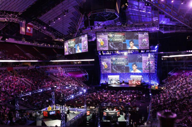 massive esports arena