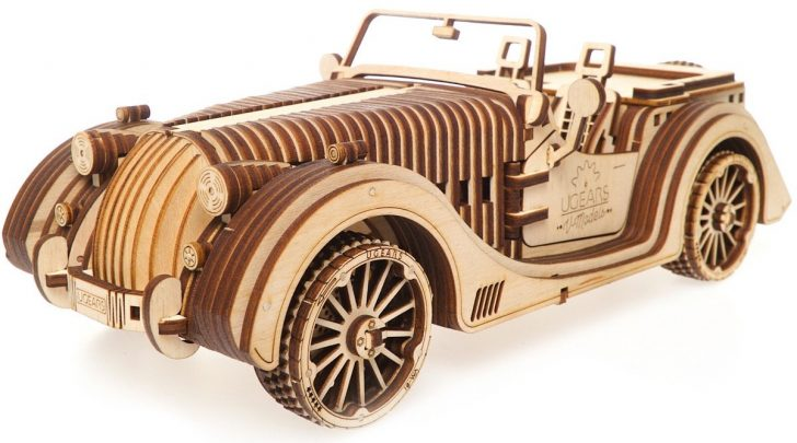 Ugears Roadster 3d puzzle